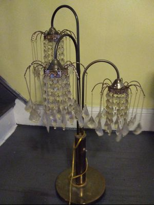 Lamps and antique carousel for Sale in Philadelphia, PA