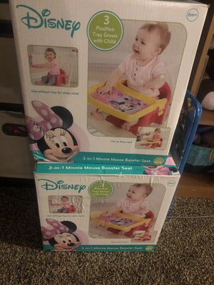 Minnie Mouse booster seat for Sale in Clovis, CA