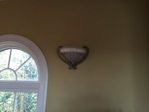 Sconces qty 2 that match chandelier for Sale in Leesburg, VA