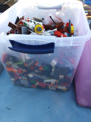 manys pieces of legos $65 for all for Sale in Greenville, NC