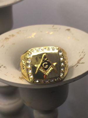 Masonic Men's Stainless Steel Ring Size 9,11,12 for Sale in Nashville, TN