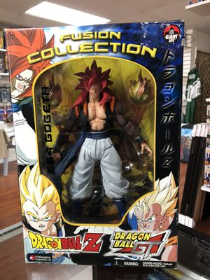 """SS4 Gogeta Dragon Ball Z Dragon Ball GT Fusion Collection Giant Ape Funimation 10"""" Inch for Sale in La Habra, CA"""