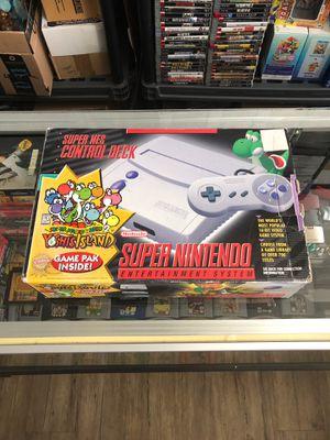 Super Nintendo Mini yoshi's island bundle boxed for Sale in Evanston, IL