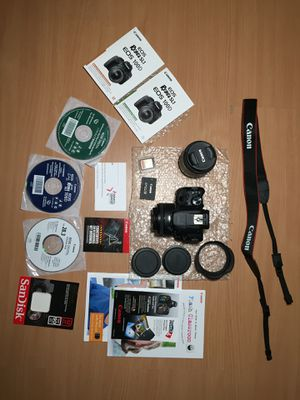 CANON EOS Rebel SL1 Kit (2 Lens and Rode Microphone) for Sale in Lancaster, CA