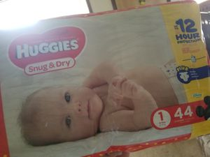 Huggies Diapers size 1, 44 ct (4 packs) for Sale in Gresham, OR