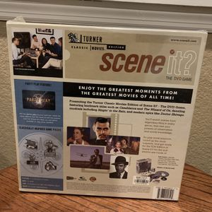 DVD classic movies Scene It game. for Sale in Elk Grove, CA