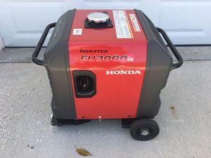 Honda Generator, EU3000is for Sale in Grant-Valkaria, FL