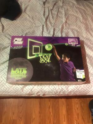 Late night Pro mini hoop for Sale in Huntsville, AL