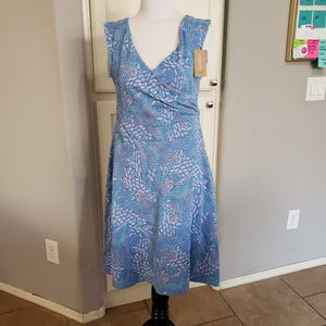 Patagonia Porch Song Swift Feathers Multi Dress size medium for Sale in Peoria, AZ