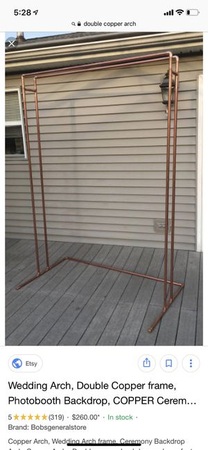 Double Copper Frame arch for Sale in Newark, CA