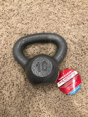 Weider 10lb Cast Iron Kettlebell for Sale in Westerville, OH