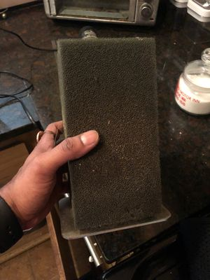 Aquarium sponge filter with stainless steel for Sale in SeaTac, WA