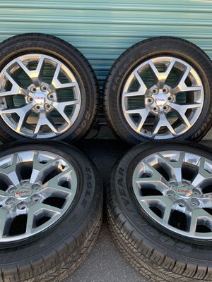 Gmc Sierra Snowflakes Factory Wheels for Sale in Fontana, CA
