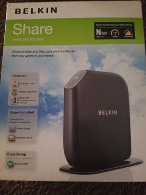 Belkin wireless router for Sale in Columbus, OH