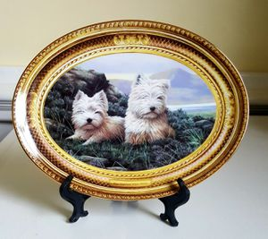 West Highland White Terrier Limited Edition Plate for Sale in Appomattox, VA