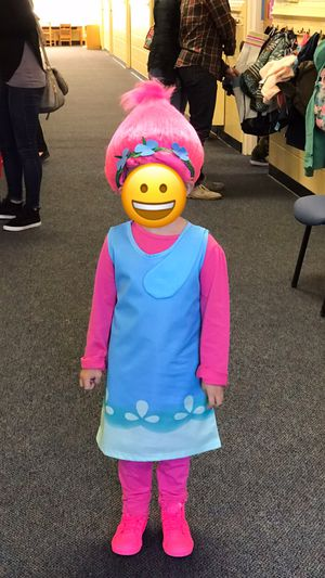 Trolls Princess Poppy Halloween Costume for Sale in Virginia Beach, VA