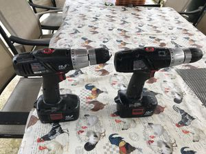 2 drill 19.2 volt for Sale in Frederick, MD