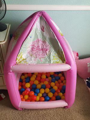 Disney Princess ball pit castle for Sale in Fresno, CA