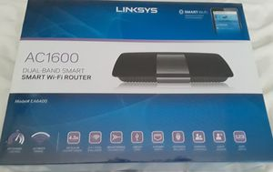 Brand new Linksys AC1600 Dual-Band Smart WIFI router, $134 at Walmart for Sale in McKinney, TX