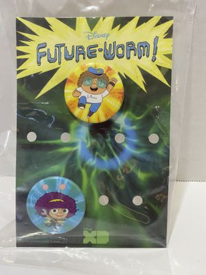Disney XD Future Worm Show collectible pin. for Sale in Alhambra, CA