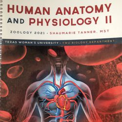 Human Anatomy & Physiology II Textbook for Sale in Corinth,  TX