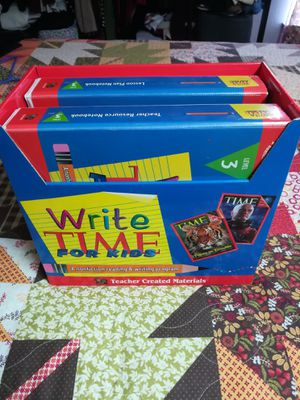 Write TIME for Kids, Teacher Created Materials, Level 3 Box Set for Sale in Riverside, CA