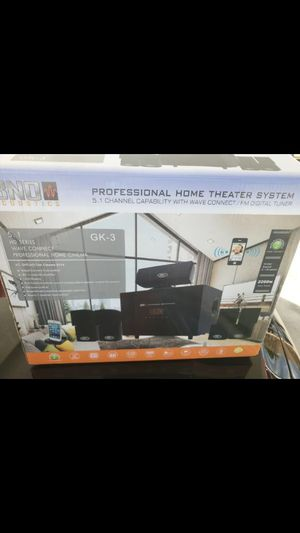 10-piece home theater stereo system (BNO GK-3 acoustics) for Sale in Kissimmee, FL