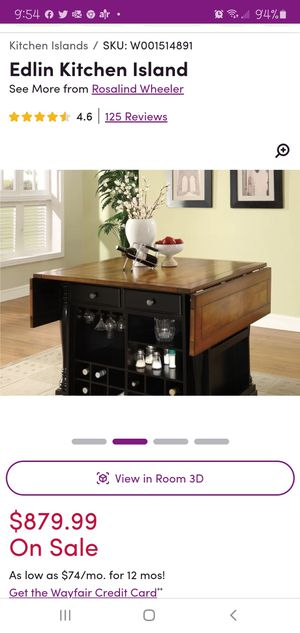 Table/Kitchen Island for Sale in Commerce, MI