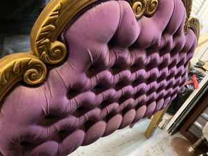 Vintage antique french full headboard for Sale in Kensington, CA