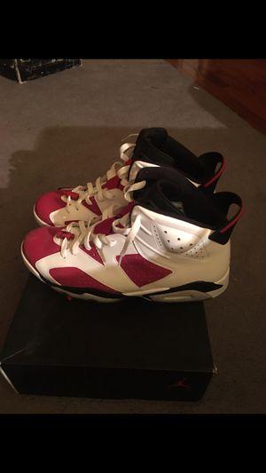 VNDS Nike Air Jordan Retro 6 Carmine Size 13 for Sale in Falls Church, VA