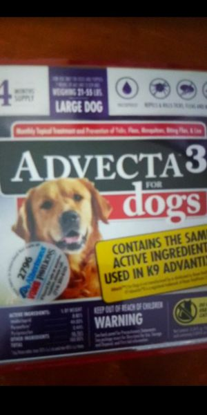 4 month supply flea treatment for Sale in Riverside, CA