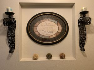 Wall Sign with Sconces for Sale in St. Cloud, FL