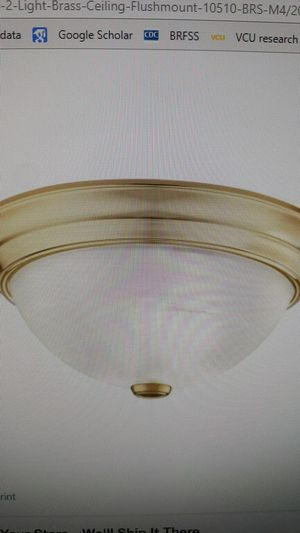 Ceiling lights, chandelier, white fan with long rod, and toilet seat with flush tank for sale for Sale in Glen Allen, VA