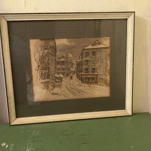 Framed Paris Print for Sale in White Plains, NY