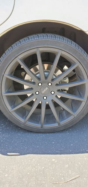 Rims and tires. 22inch for Sale in Las Vegas, NV