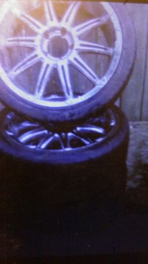 "22"" milanni chrome rims with hancook nice tires !! 250$ Cash tonight! for Sale in Tacoma, WA"
