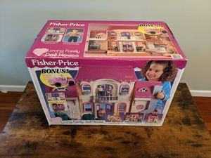 Vintage Fisher-Price LOVING FAMILY Dollhouse. 1999. New in Box! for Sale in Getzville, NY