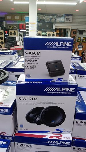 Alpine black Friday special type s sub package with amp only 349 for Sale in Westchester, CA