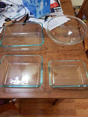 Pyrex glass ware for Sale in Washington Township, NJ