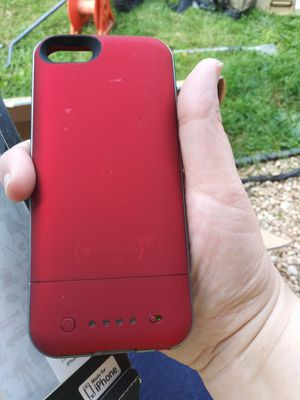 Mophie Juice pack air for iphone 5s & 5 for Sale in Lexington, KY