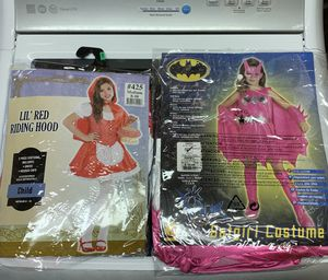 Batgirl and Little Red Riding hood Halloween costumes for Sale in Attleboro, MA