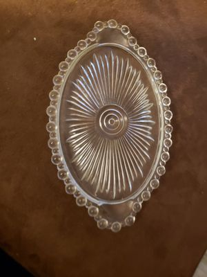 Beautiful vintage cut glass small dish for Sale in Stow, OH