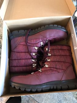 New in Box hiking boots ladies size 8.5 wide for Sale in Gaithersburg,  MD