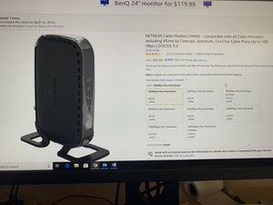 Router and Modem for Sale in Kyle, TX