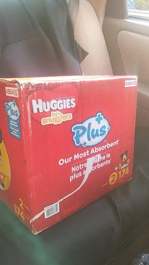 Huggies lil snugglers for Sale in Portsmouth, VA
