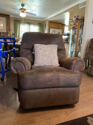 2 Suede Recliners for Sale in Corona, CA