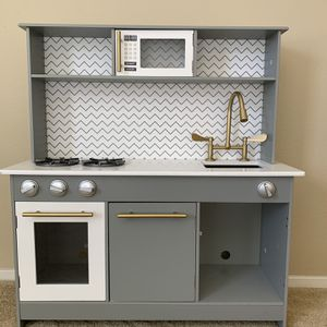 Wood Play Kitchen for Sale in Huntington Beach, CA