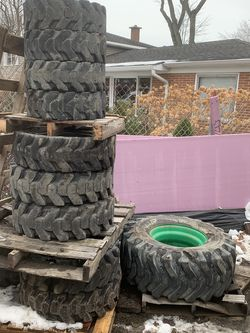 Different Size Bobcat Tires for Sale in Glenview,  IL