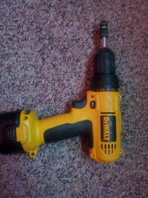 Dewalt drill with multi bit switcher attachemnt , that goes for 15$ by itself for Sale in Aiken, SC