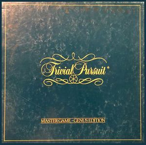 Trivial Pursuit - Master Game - Genus Edition (1981), USED for Sale in Brandon, MS